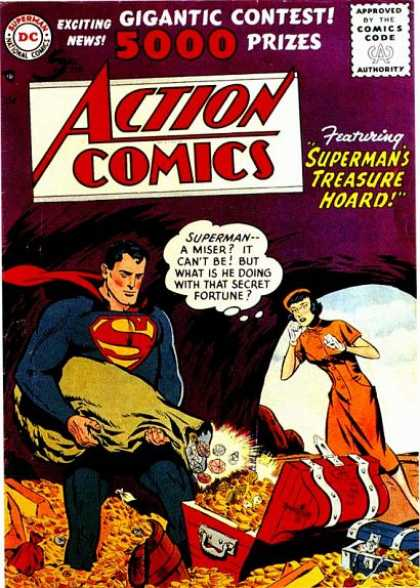 action comics covers