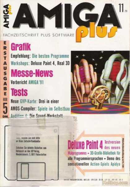 Amiga Plus Cover