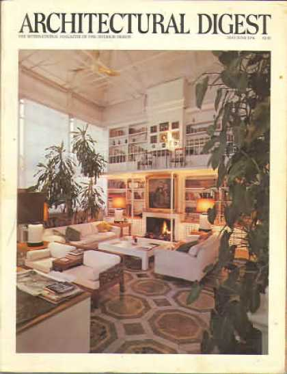 Architectural Digest   May 1976