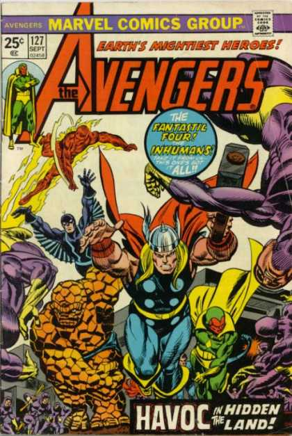 Avengers Covers 100 149