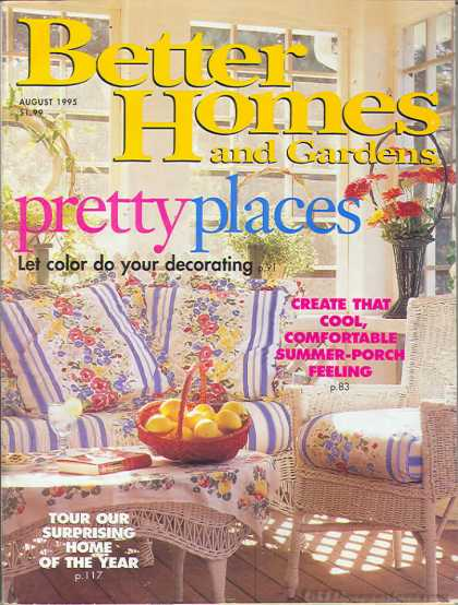 Better Homes And Gardens   August 1995