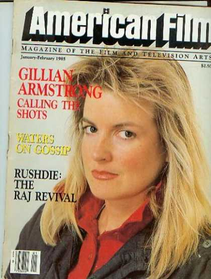 Books About Movies - American Film Magazine January-February 1985 Gillian Armstrong (Vol. - 51-9