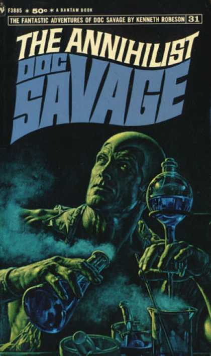Doc Savage Book Covers