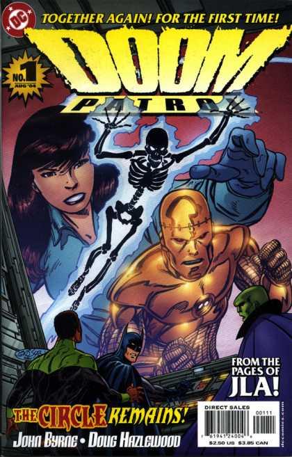 Doom Patrol Covers