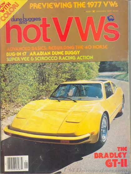 Dune Buggies and Hot VWs Covers