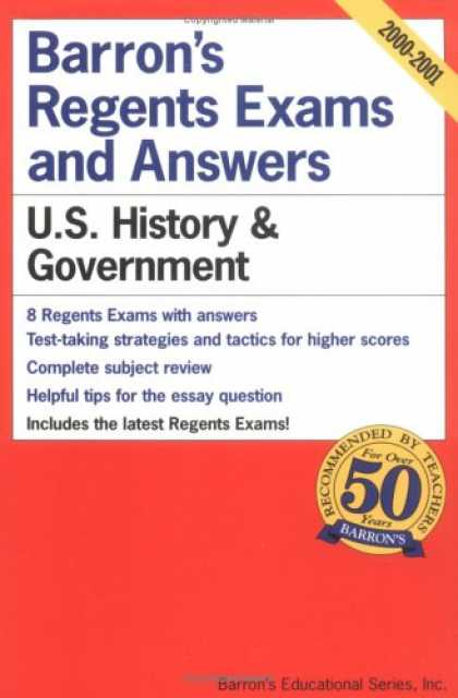 Regents Exams and Answers: U.S. History and Government (Barron's Regents Exams and Answers) book pdf