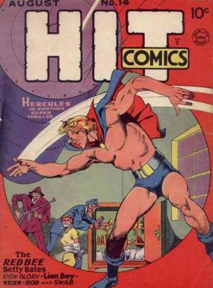 Hit Comics 14 - Robbery - Gangsters - Hercules - Hero - Hostage