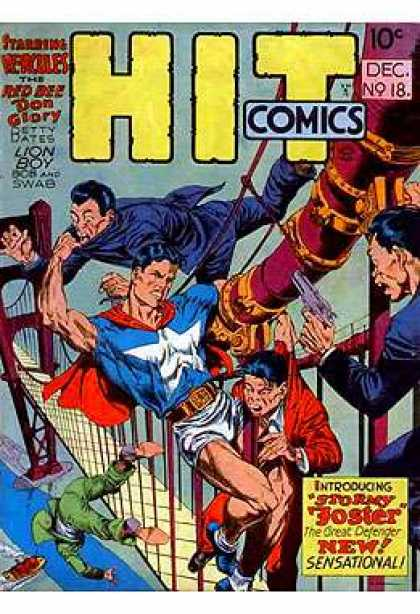 Hit Comics 18 - Villians - Guns - Bridge - Stormy Foster - Ocean