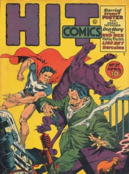 Hit Comics 21 - Don Glory - Man - Smoke - Gun - Betty Bates