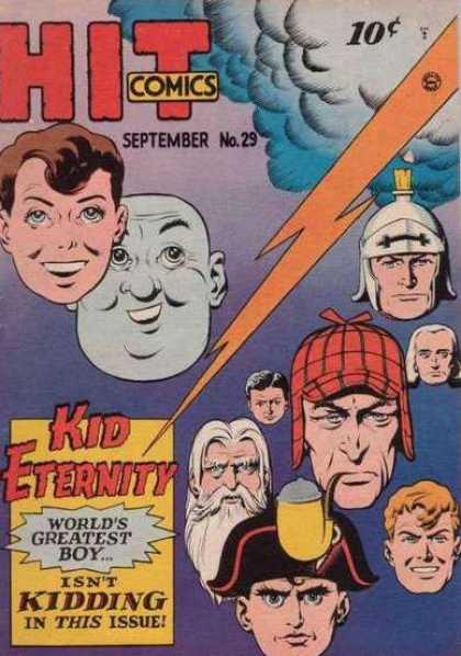 Hit Comics 29 - Sherlock Holmes - Napoleon - Roman - Lightning - Cloud