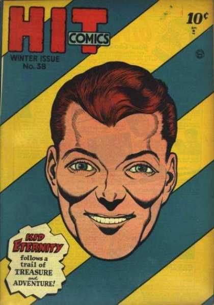 Hit Comics 38 - Kid Eternity - Treasure - Adventure - Boy - No 38