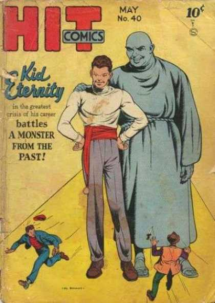 Hit Comics 40 - Kid Eternity - Monster - Past - May No40 - Running