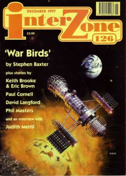 Interzone 126 cover