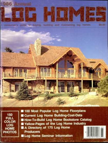 Log Home Living   1986