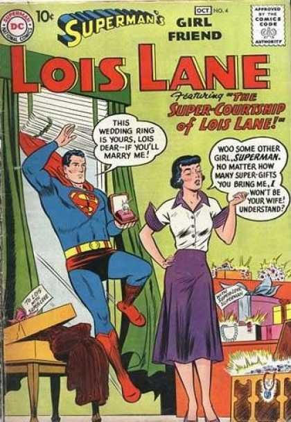 Lois Lane 4 - Superman - Girl Friend - Wedding Ring - Jewels - Gifts