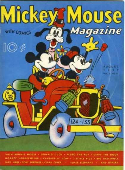 Mickey Mouse Magazine 23