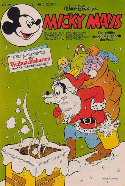 Weihnachtskarten Comic.Micky Maus Cover 1100 1149