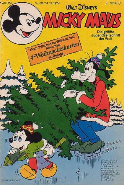 Weihnachtskarten Comic.Micky Maus Cover 950 999