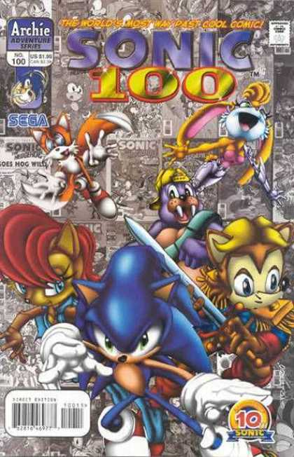 Sonic The Hedgehog Covers 100 149