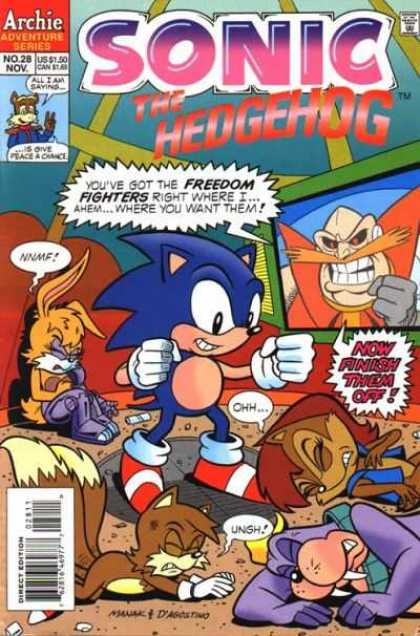 Sonic The Hedgehog Covers
