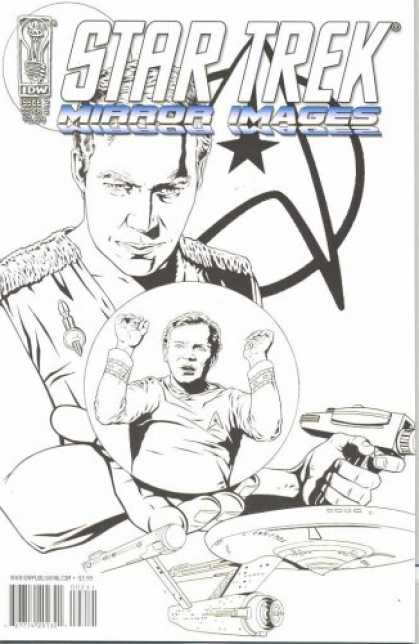 star trek books star trek mirror images 2 - Star Trek Coloring Book