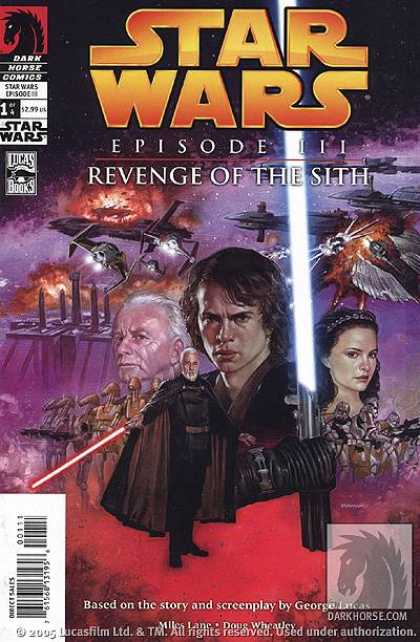Star Wars Revenge Of The Sith Covers