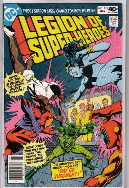 Superboy Covers #250-299