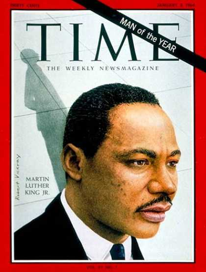 Martin Luther King jr Man of The Year Martin Luther King jr Man of