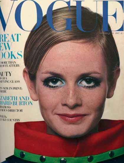 Vogue - Twiggy - October, 1967