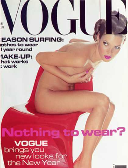 Vogue - Kate Moss - January, 1995