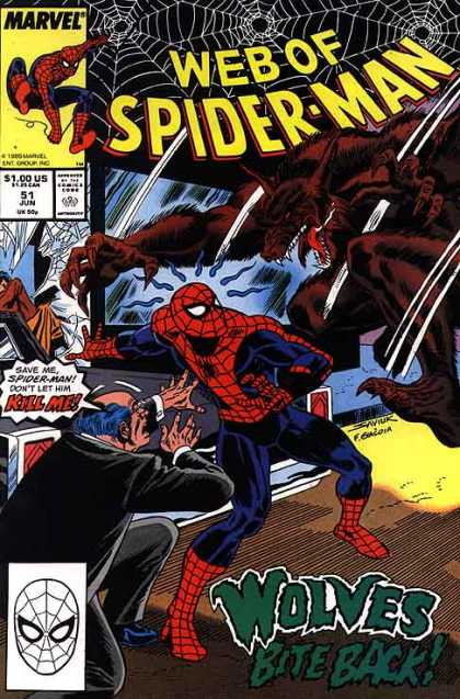 Web of Spider-Man Covers #50-99